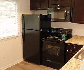 Kitchen, Parktowne Townhomes