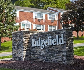 Community Signage, Ridgefield Apartments