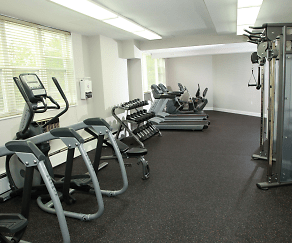 Fitness Weight Room, Regency Towers