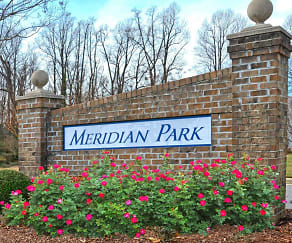 Community Signage, Meridian Park Apartments
