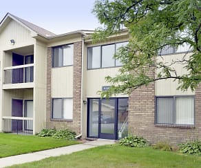 Building, Sandhurst Apartments
