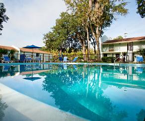 Pool, Midtown Oaks Apartments