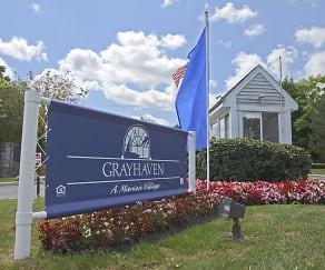 Community Signage, Grayhaven A Marina Village