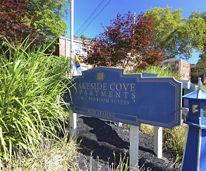 Community Signage, Lakeside Cove Apartments