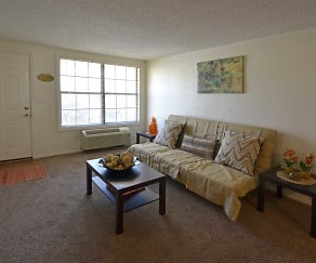 Living Room, Palm Harbor Villas Apartments