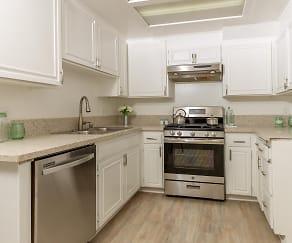 Kitchen, Denny Avenue Apartments