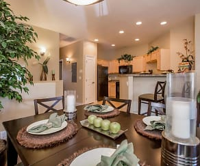 Dining Room, Sereno Townhomes