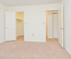 Bedroom, Country Club Apartments