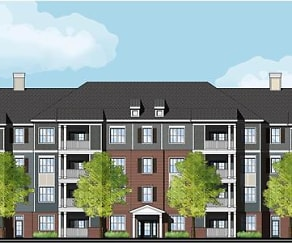 Rendering, The Apartment Homes at Crossroads Station