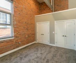 Bedroom, Nickel City Lofts