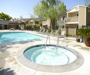 Pool, Woodcreek Apartments