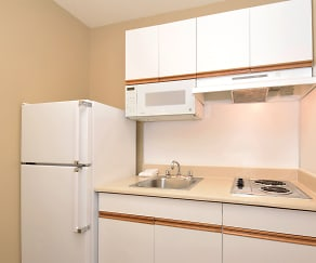 Kitchen, Furnished Studio - Raleigh - North Raleigh - Wake Forest Road