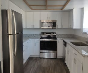 Renovated unit, The Springs