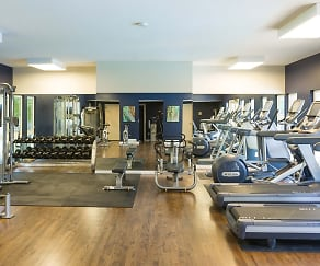 Fitness Weight Room, Boulder Creek Apartments
