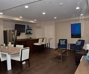 Clubhouse to Entertain Guests, Miami Riverfront Residences