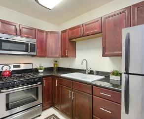 Kitchen, Elan City Lofts