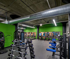 Fitness Weight Room, City Lofts On Laclede
