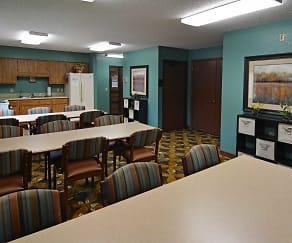 Clubhouse, Riverside Apartments