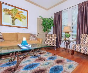 Living Room, The Huntington at Sienna Plantation