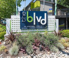 Community Signage, The BLVD
