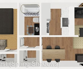 Building, Spring Shadows Apartments