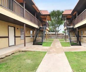 Building, Crossings Apartments