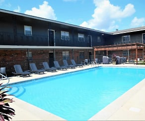 Pool, Quail Court Apartments