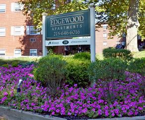 Community Signage, Edgewood Apartments