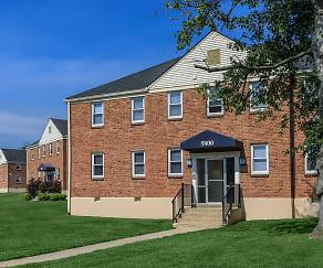 Building, Park Raven Apartments