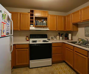 Kitchen, Six Points Apartments