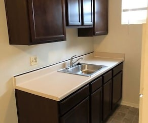 Kitchen, Walther Apartments
