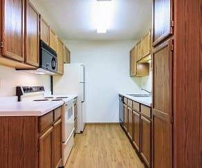Kitchen, Kensington Place Apartments