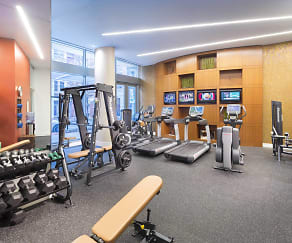 Fitness Weight Room, Crescent Falls Church
