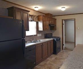 Kitchen, Woodside Terrace