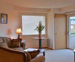 Living Room, Hidden Oak Estates