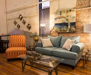 Living Room, The Lamar