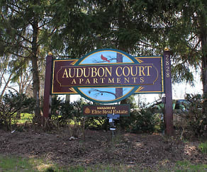 Landscaping, Audubon Court Apartments