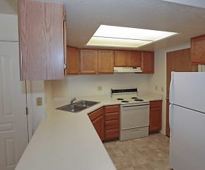 Kitchen, Stonehedge Apartments