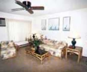 Living Room, Spring Isle Apartments
