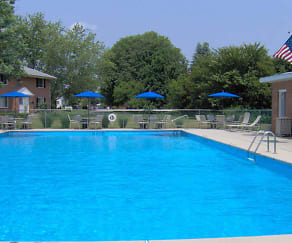 Pool, Homestead Garden Apartments
