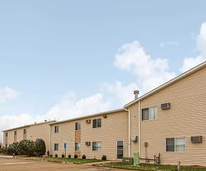 Building, Eastmoor Apartments & Townhomes