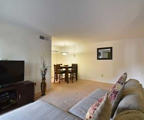 Living Room, Apartments at Mill Creek