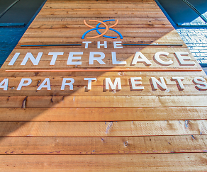 Community Signage, Interlace Apartments