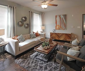 Living Room, Audubon Park Apartment Homes