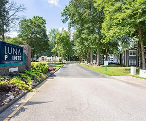 Community Signage, Luna Pointe Apartments