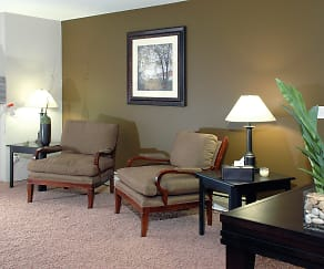 Living Room, Robinwood Apartments