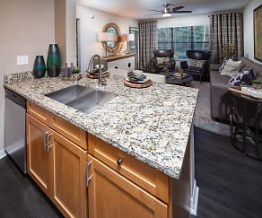 Kitchen, Barrington at Mirror Lake by Cortland