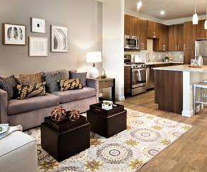 Living Room, Avalon Easton Apartments