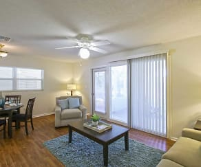 Living Room, NS Mayport Homes a Balfour Beatty Community