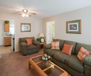 Living Room, Parklane Apartments